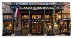 Stockyards Hotel Bath Towel