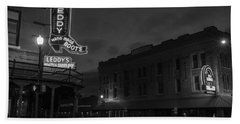 Stockyards Main And Exchange Bw Hand Towel