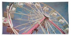 Stock Show Ferris Wheel Bath Towel