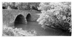 Stone Bridge - Manassas Bath Towel