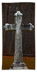 Stone Cross Hand Towel