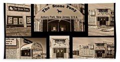 Stone Pony Montage Bath Towel