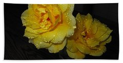 Stop And Smell The Roses Hand Towel