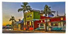 Store On Fort Myers Beach Florida Bath Towel