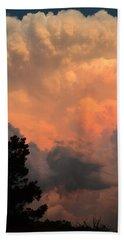 Storm At Sundown Hand Towel
