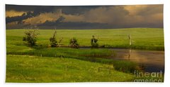 Storm Crossing Prairie 1 Hand Towel