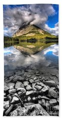 Storm Mountain II Bath Towel by David Andersen
