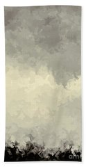 Storm Over A Cornfield Bath Towel