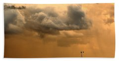 Storm's A Brewing Bath Towel by Steven Reed