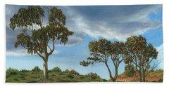 Stormy Eucalyptus Hand Towel