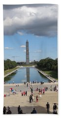 Clouds Over Monument Hand Towel