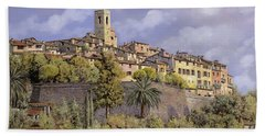 St.paul De Vence Bath Towel