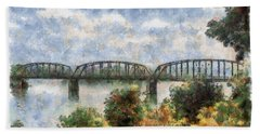 Strang Bridge Bath Towel