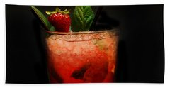 Strawberry Mojito Hand Towel