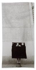 Paris Surrealism Hand Towel by Shaun Higson
