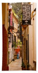 Streets Of Seville  Bath Towel