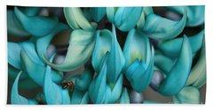 Strongylodon Macrobotrys - Seagreen Blue Jade Vine Bath Towel