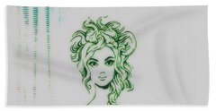 Stylin' Inverted 2 Hand Towel by Kelly Awad