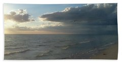 Subdued Sunset Bath Towel by K Simmons Luna