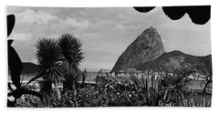 Sugarloaf Mountain Seen From The Patio At Carlos Bath Towel
