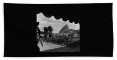 Sugarloaf Mountain Seen From The Patio At Carlos Hand Towel