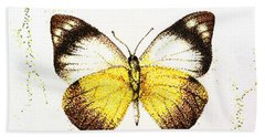 Sulphurs - Butterfly Bath Towel