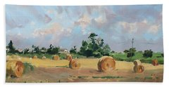 Summer Fields In Georgetown On Hand Towel