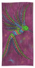 Summer Hummer Hand Towel by Susie WEBER