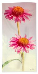 Summer Impressions Cone Flowers Hand Towel