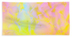 Hand Towel featuring the photograph Summer Joy Abstract by Judy Palkimas