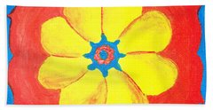 Summer Mandala Bath Towel