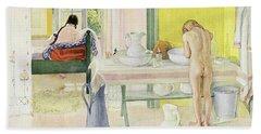 Summer Morning Pub In Lasst Licht Hinin Let In More Light Bath Towel