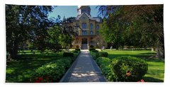 Summer On Notre Dame Campus Hand Towel by Dan Sproul