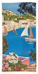 Summer On The Cote D'azur Hand Towel