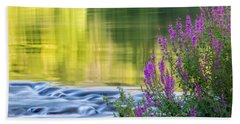 Summer Reflections Hand Towel by Bill Wakeley