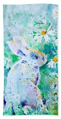 Summer Smells Hand Towel by Zaira Dzhaubaeva