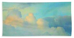 Summer Sunset Hand Towel by Robyn King