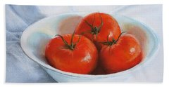 Summer Tomatoes Hand Towel
