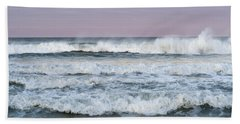 Summer Waves Seaside New Jersey Hand Towel