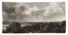 Summerland, Engraved By David Lucas 1802-81 Mezzotint Hand Towel