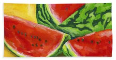 Summertime Delight Hand Towel by Stephen Anderson