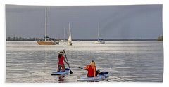 Summertime Fun Hand Towel by HH Photography of Florida
