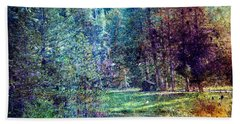 Summertime In Vail Hand Towel by Madeline Ellis