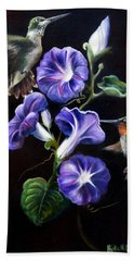 Hand Towel featuring the painting Sumptuous Delight by Phyllis Beiser