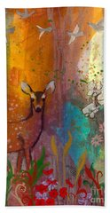 Sun Deer Hand Towel