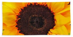 Hand Towel featuring the photograph Sun Delight by Angela J Wright