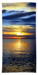 Sun Down South Hand Towel by Faith Williams
