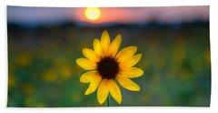 Sun Flower Iv Hand Towel