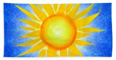 Bath Towel featuring the photograph Sun Flower by Tim Gainey