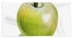 Sun Kissed Green Apple Hand Towel by Irina Sztukowski